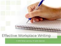 Effective Workplace Writing