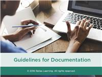 Guidelines for Documentation